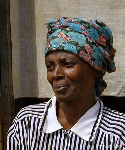 Loving Grandmother, Butare, Rwanda 2007