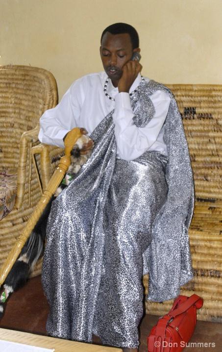 Groom In Traditional Clothing, Butare, Rwanda 2007