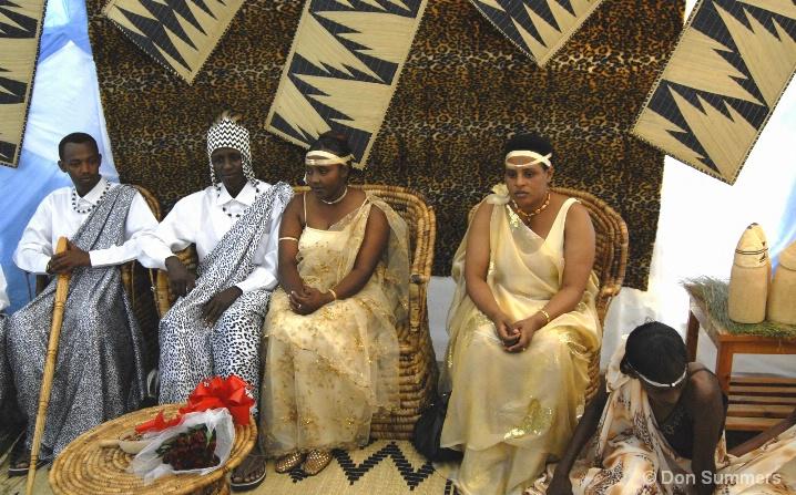 Wedding Party, Butare, Rwanda 2007