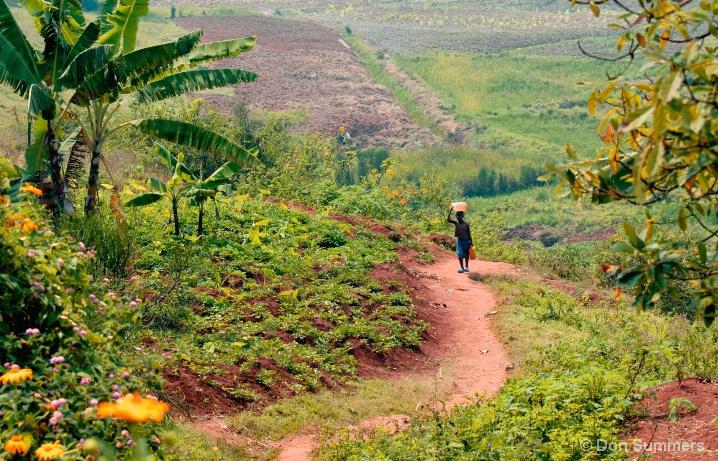 Butare, Rwanda Countryside 2007