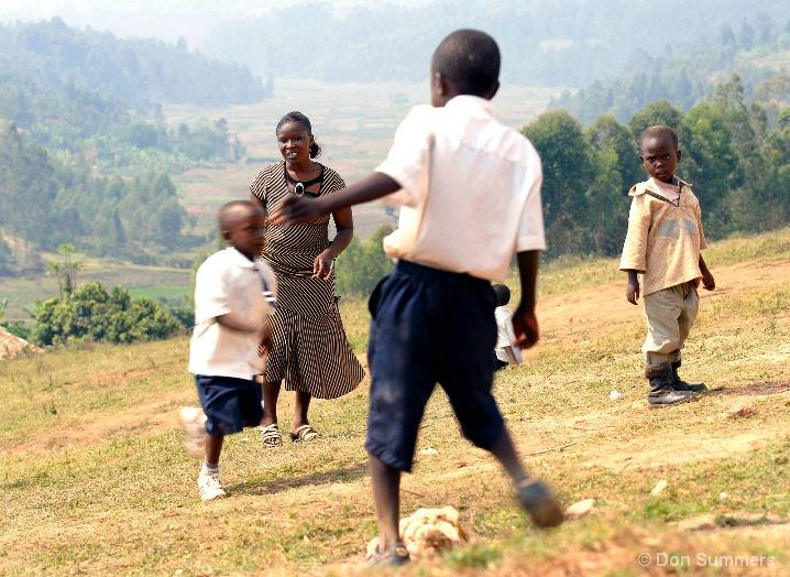 Let Me Play Too, Butare, Rwanda 2007