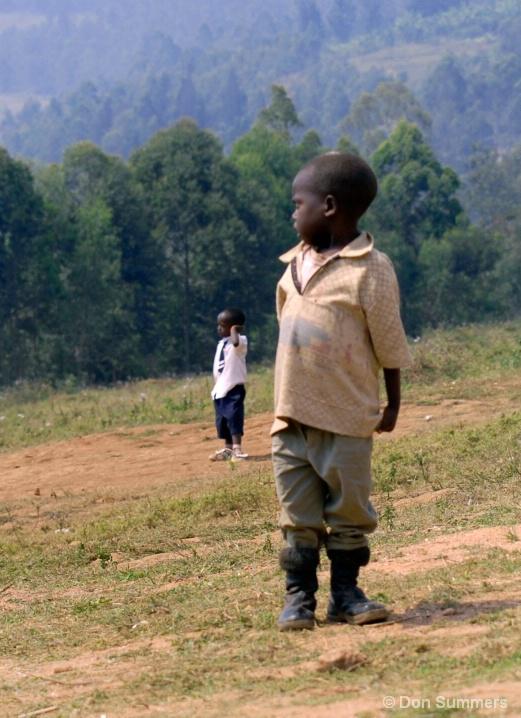 Would Be Student, Butare, Rwanda 2007
