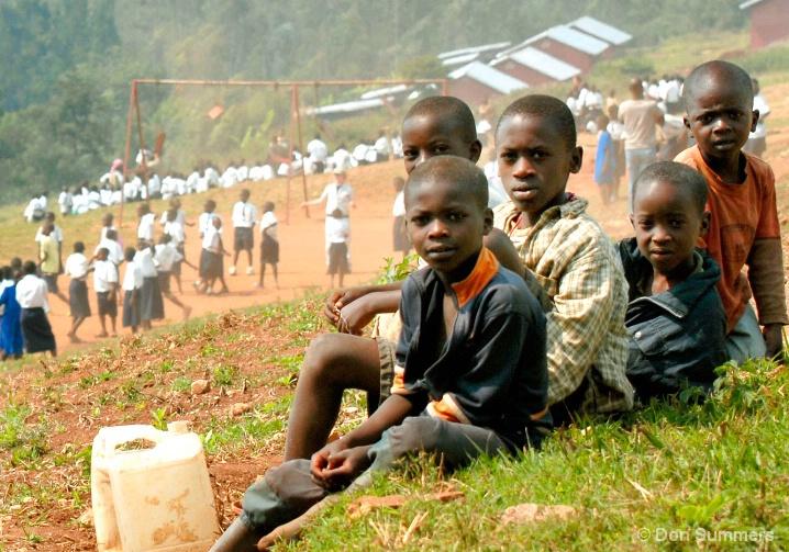 We Want To Go To School, Butare, Rwanda 2007