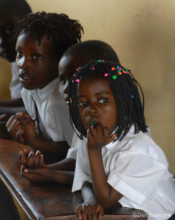 Day Dreaming At School, Butare, Rwanda 2007