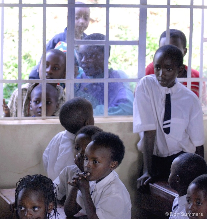 On Lookers, Butare, Rwanda 2007