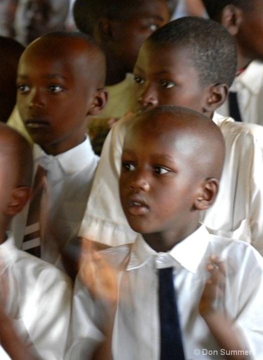 At School In Butare, Rwanda 2007