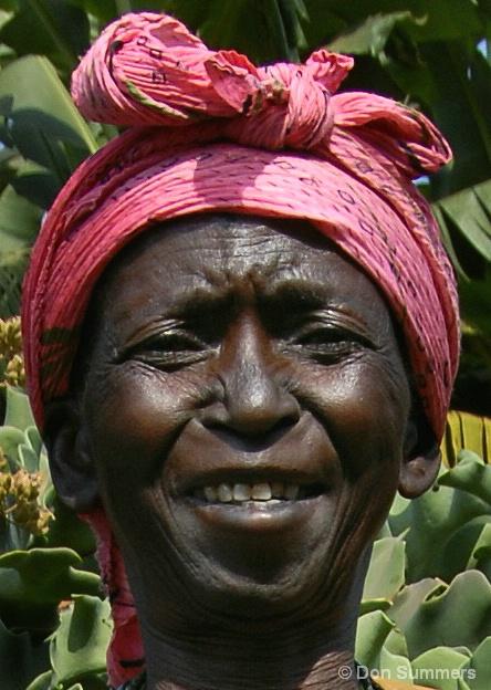 Butare Woman, Rwanda 2007