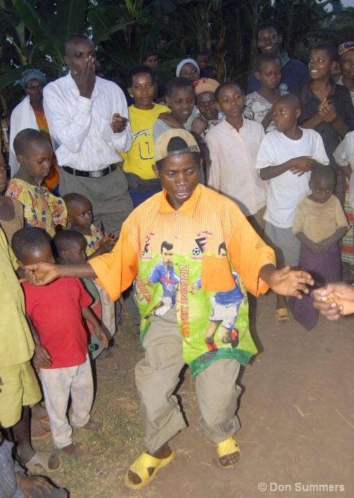 Dancing Batwa, Butare, Rwanda 2007