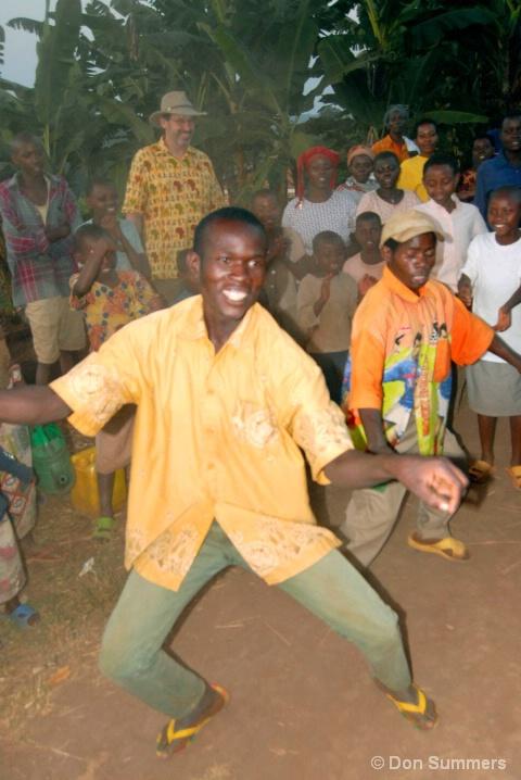 Batwa Dancing, Butare, Rwanda 2007