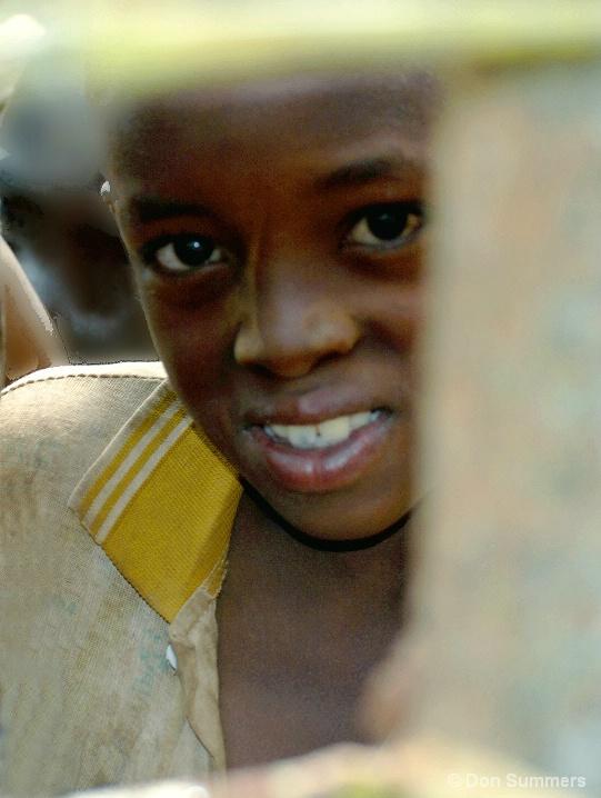 Looking To The Future, Butare, Rwanda 2007