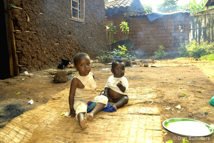 Waiting For Lunch, Butare, Rwanda 2007