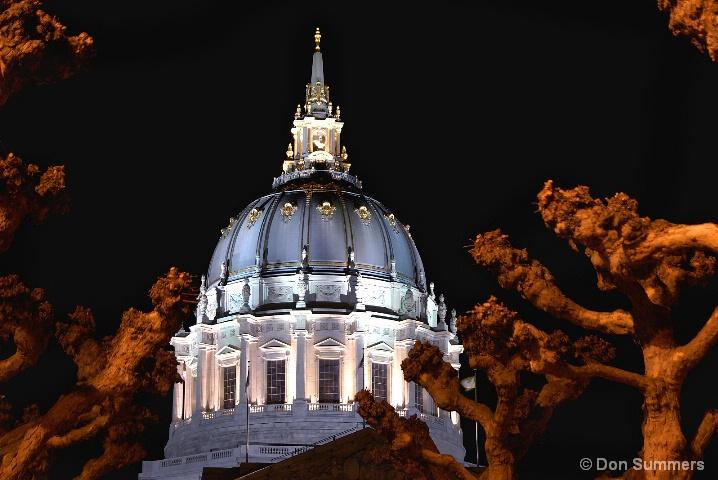 Winter at City Hall, San Francisco, CA 2007