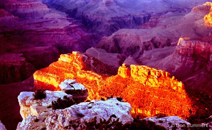 Sunset At The Grand Canyon, AZ 2006