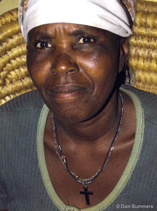 Christian Woman, Butare, Rwanda 2007