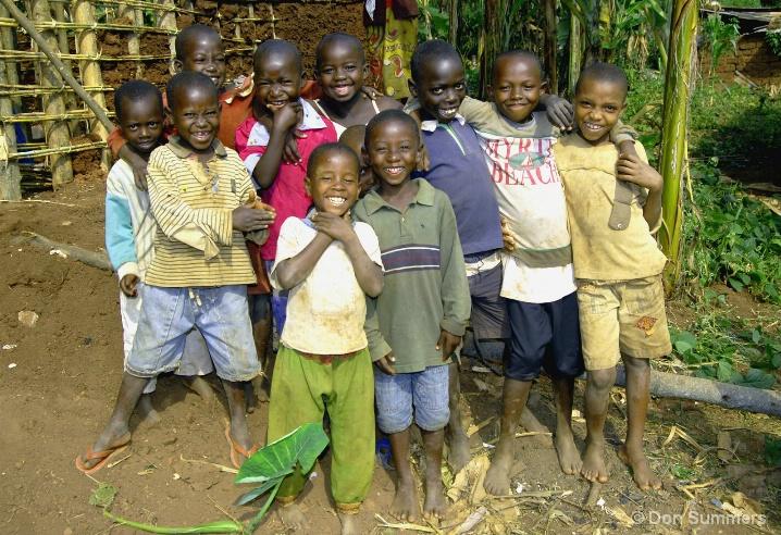 Happy Children, Butare, Rwanda 2007
