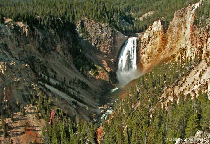 Yellowstone, Lower Falls