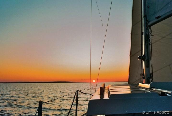Shades of a Sunset Sail, Lake Amistad