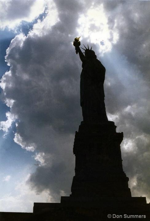Statue of Liberty, Ellis Island, NY 1997