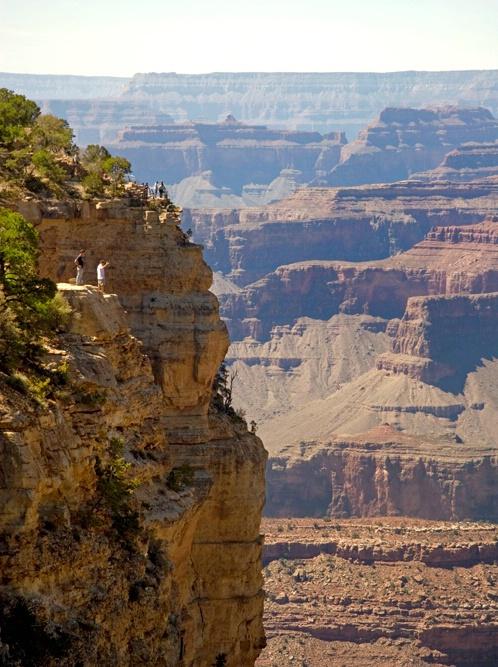 Grand Canyon long way down