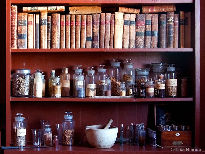 Old Pharmacy ingredients