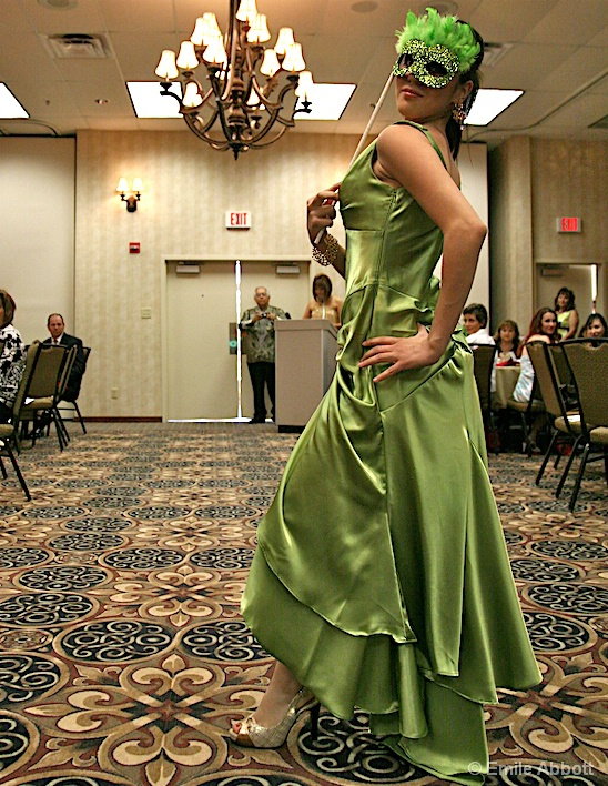 Mexican Model, Lucero at ARC Fashion Show