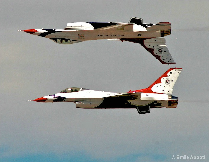"""""""Thunderbirds Precision"""" Over and Under"""