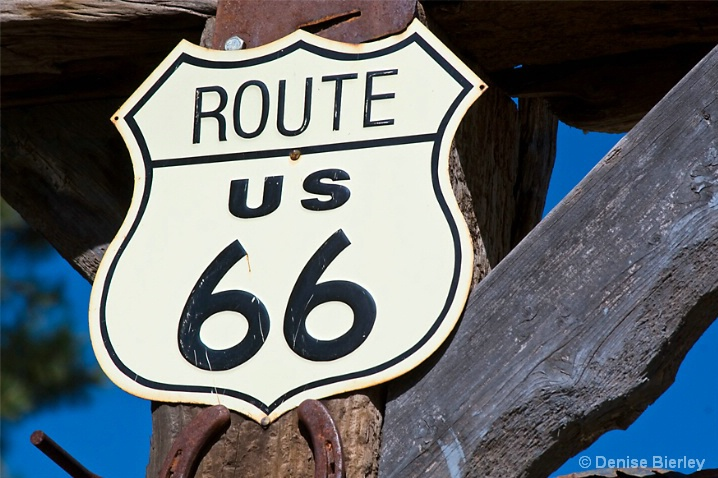 Route 66.  The Mother Road