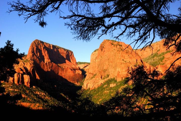 Kolob Canyon - Sunset