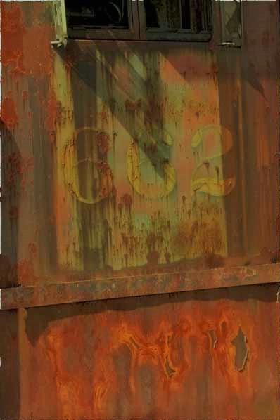 A Rusty Locomotive