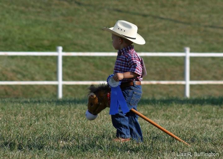Proud Little Cowboy