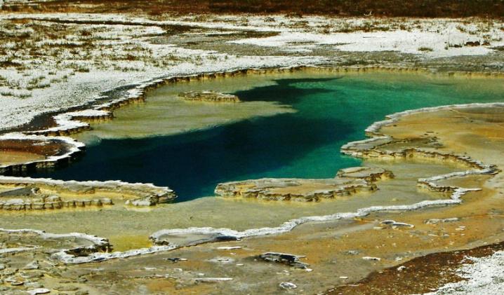 Doublet Pool Yellowstone NP