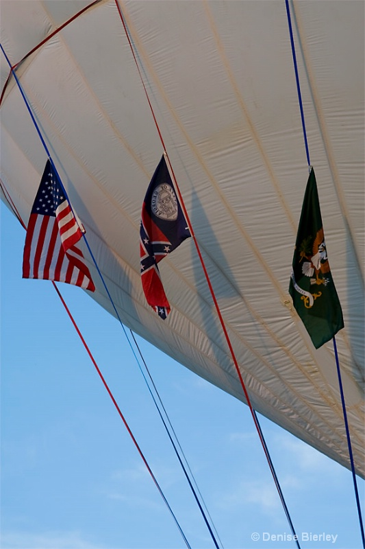Gas Balloon Flags
