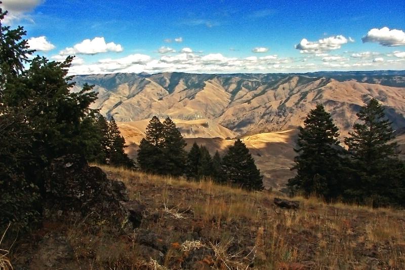 Hells Canyon Overlook, Oregon-Idaho