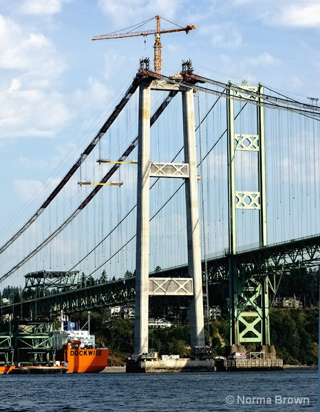New Tacoma Narrows Bridge, WA