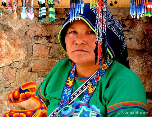 Huichol Indian Woman