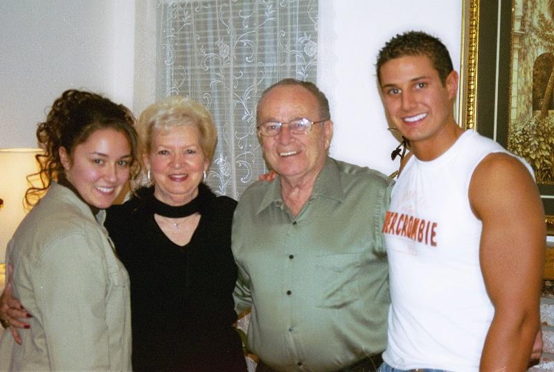 Charlotte & William with Grandpa & Grandma Reynold