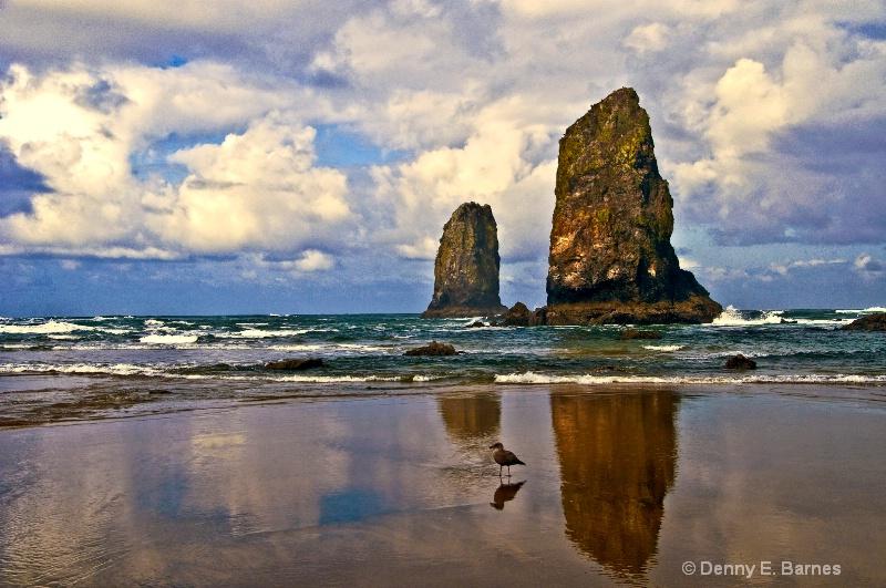 The Needles, Haystack Rock-Oregon