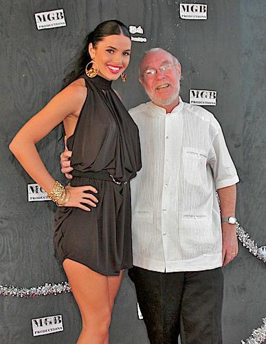 Supermodel and Actress CC Fontana and Doc