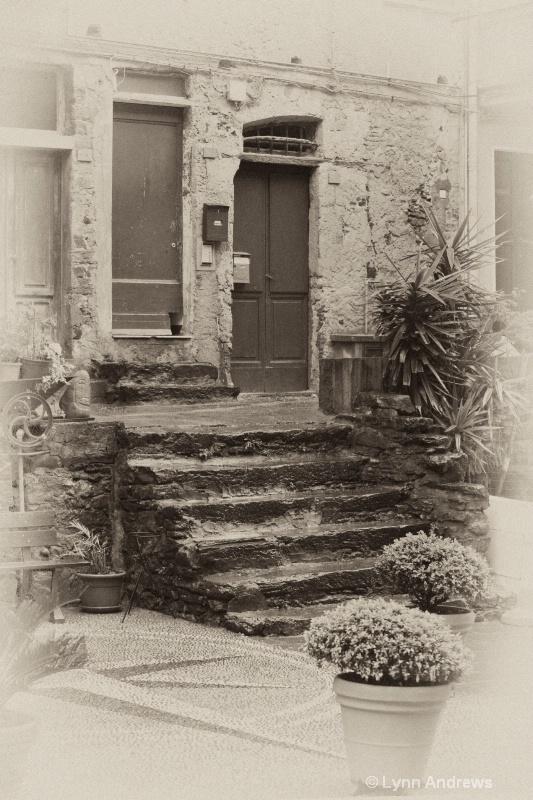 Old Vernazza Door