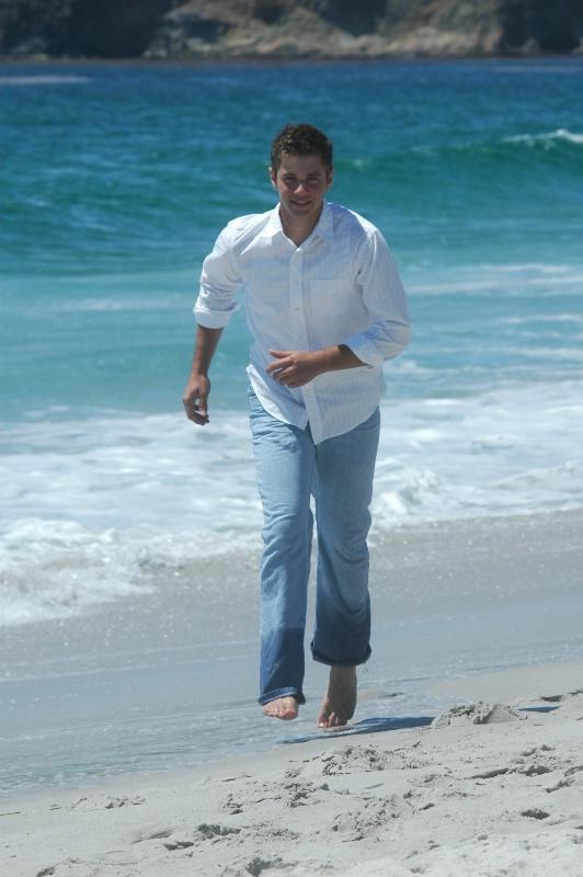 Clayton on Carmel Beach, CA