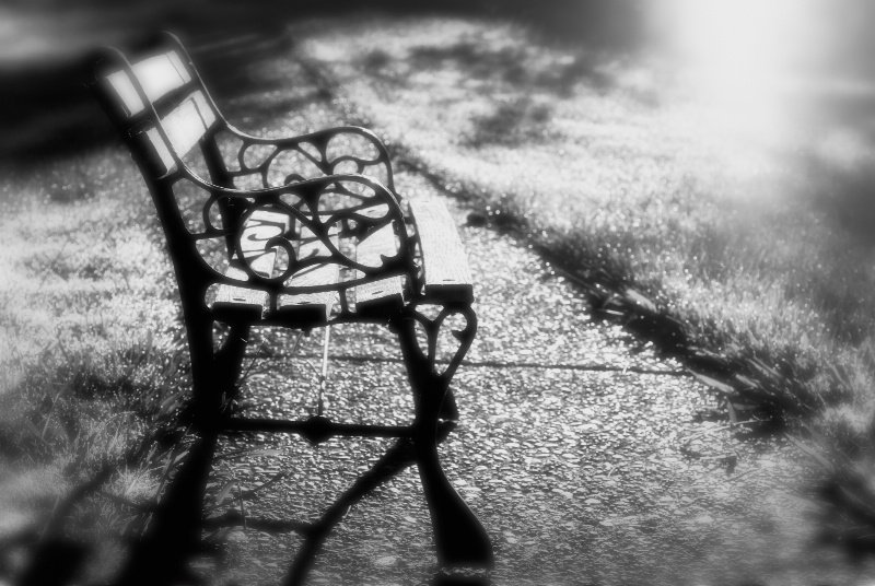 Lonely Places in Black & White