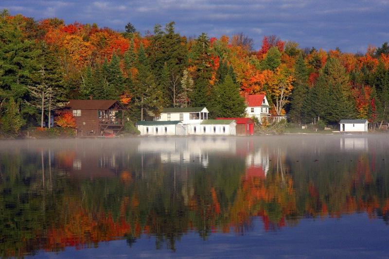 Autumn Boat House