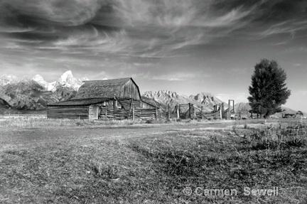 Old Mormon Barn , Jackson, Wyoming