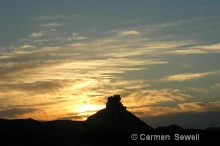 Big Bend Sunset