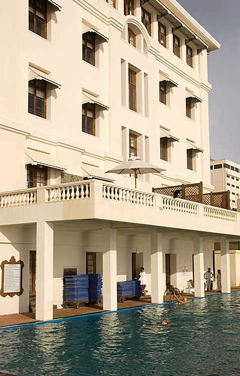 Pool, Galle Face Hotel, Colombo