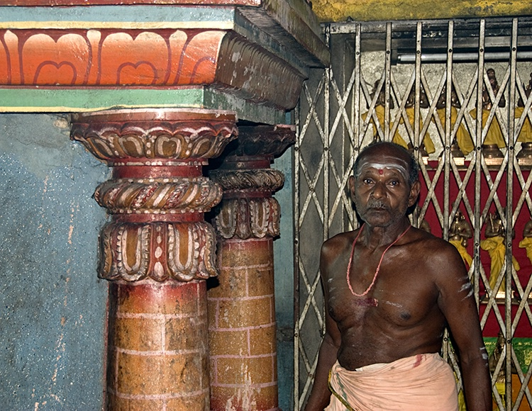 Hindu Priest, Colombo
