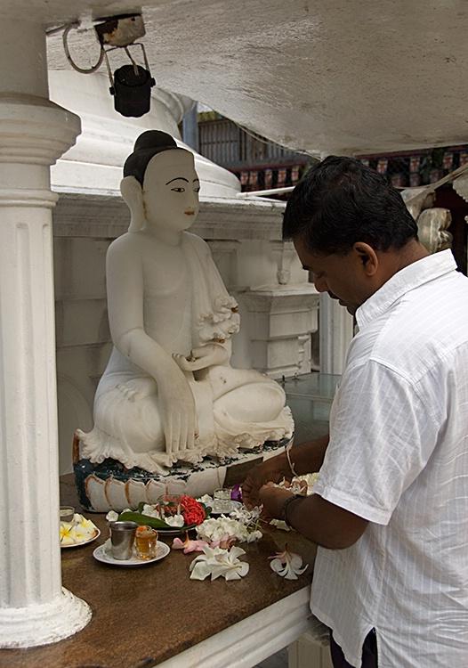 Buddhist Temple, Colombo