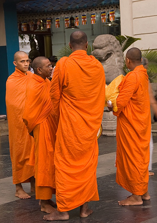 Glance, Buddhist Temple, Colombo
