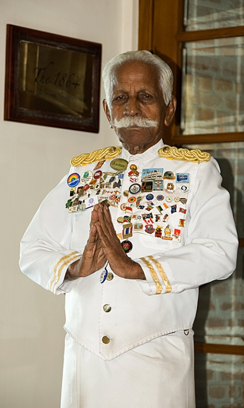 Famous Doorman, Galle Face Hotel, Colombo