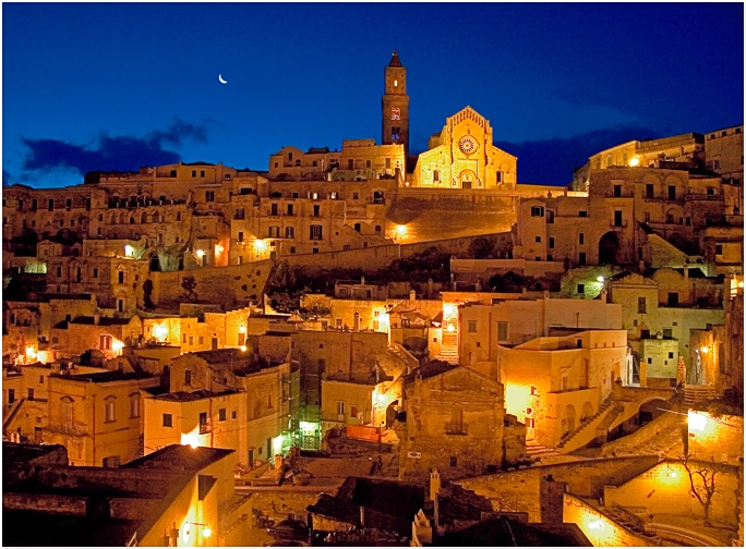 4 AM in Matera Italy